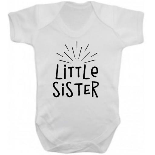 Little Sister Short Sleeved Body Suit