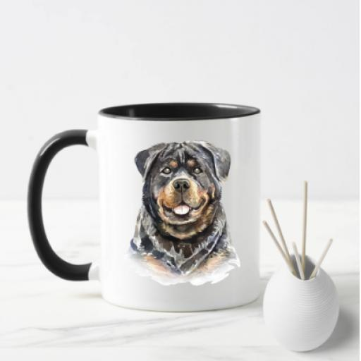 Rottweiler V2 Dog Mug