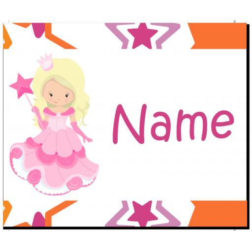 Princess Personalised Placemat