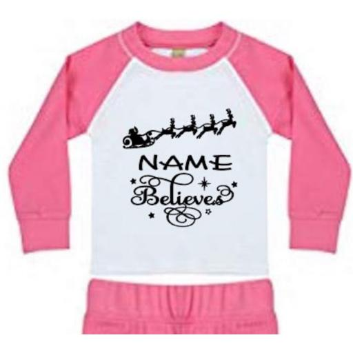 Name Believes (Personalised) Heat Transfer Vinyl