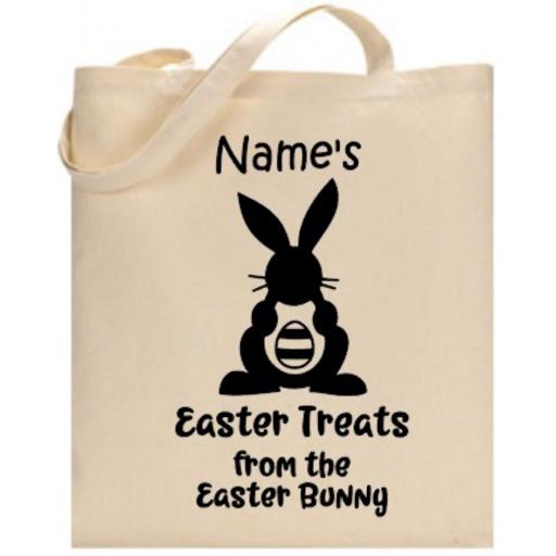 Easter Treats Bag Personalised
