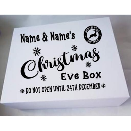 Christmas Eve Box V6 Decal / Sticker/ Graphic