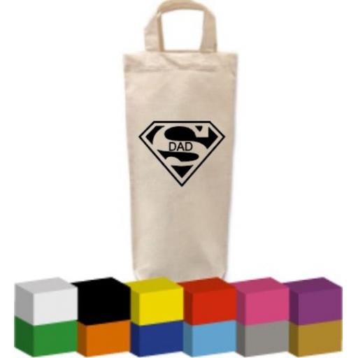 Bottle Bag with Superman Dad