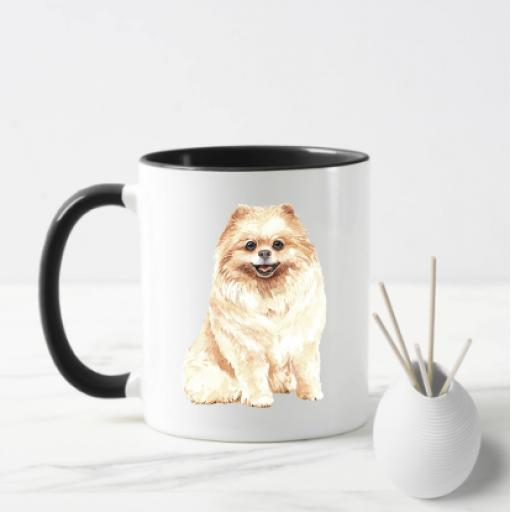 Pomeranian Dog Mug