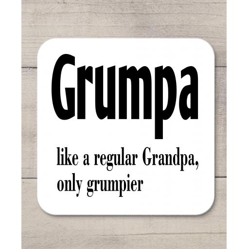Grumpa like a regular Grandpa only Grumpier Coaster