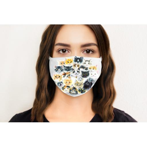Cats Face Mask