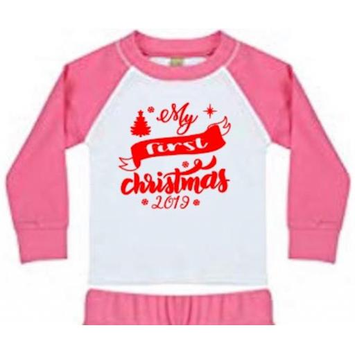 My first christmas Heat Transfer Vinyl
