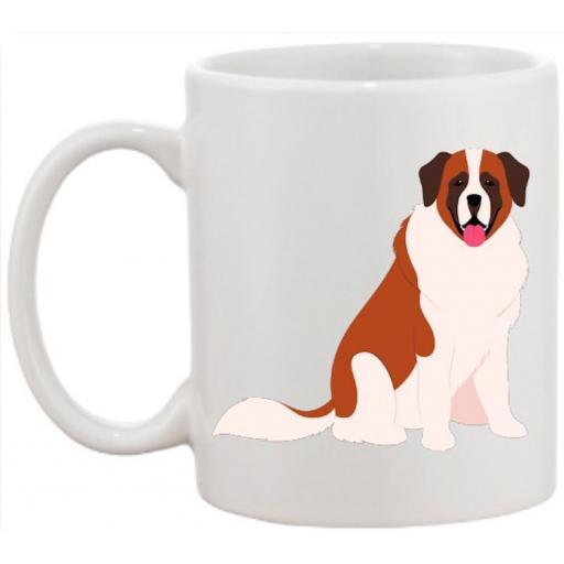 Saint Bernard Dog Mug