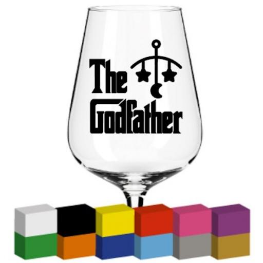 The Godfather Glass / Mug / Cup Decal / Sticker / Graphic
