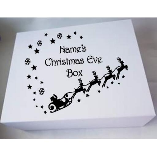 Christmas Eve Box V5 Decal / Sticker/ Graphic