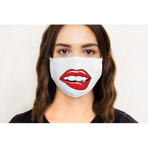 Lips 1 Face Mask