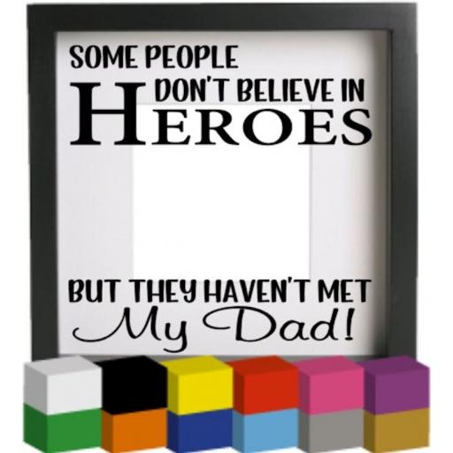 Some people V3 Vinyl Glass Block / Photo Frame Decal / Sticker / Graphic