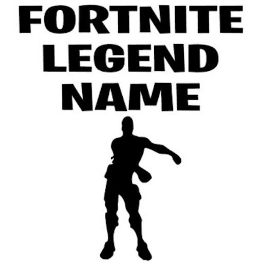 Fortnite Legend Personalised Heat Transfer Vinyl