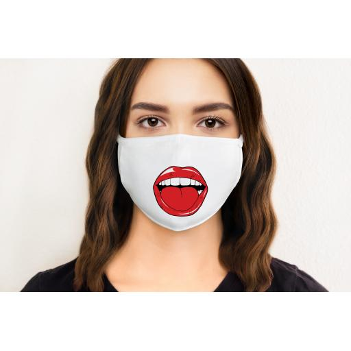 Lips 5 Face Mask