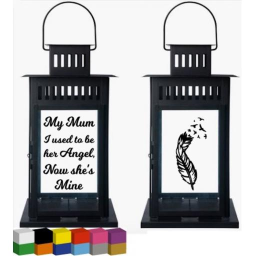My Mum Lantern Decal / Sticker / Graphic