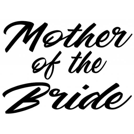 Mother of the Bride Heat Transfer Vinyl