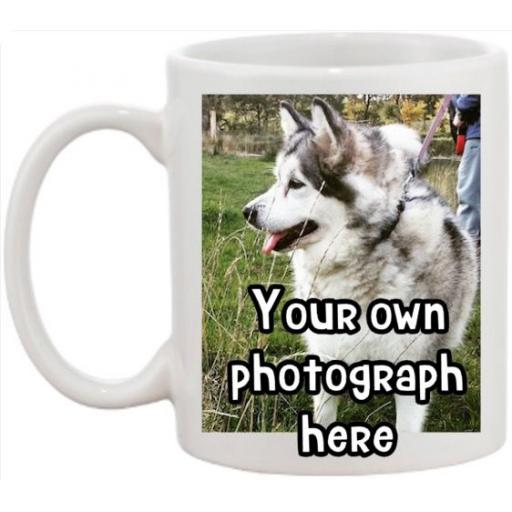 Bespoke Personalised Photo Mug