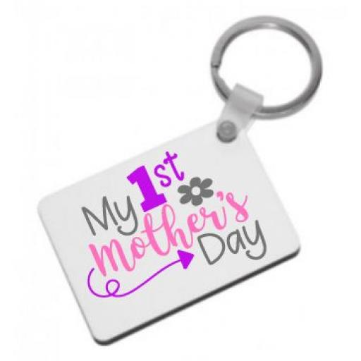 My 1st Mother's Day Keyring