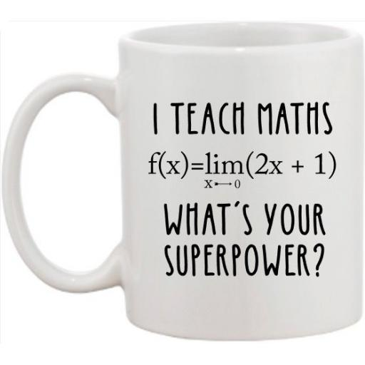 I teach Maths Mug
