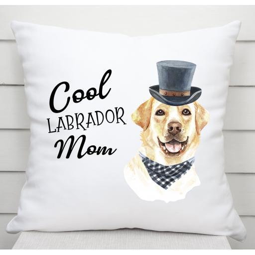 Cool Labrador Mom Cushion Cover