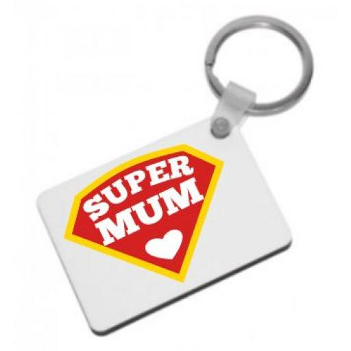 Super Mum Keyring
