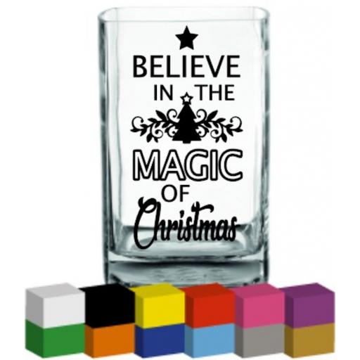 Believe in the Magic Vase Decal / Sticker / Graphic
