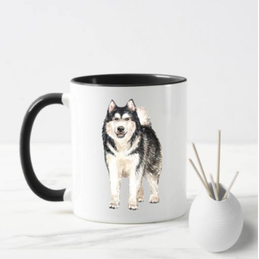 Alaskan Malamute V2 Dog Mug