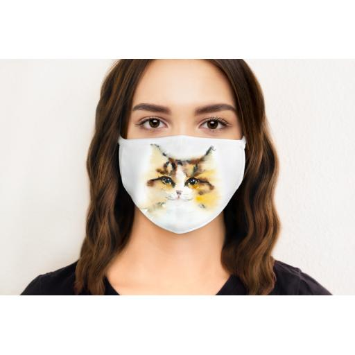 Cat 4 Face Mask