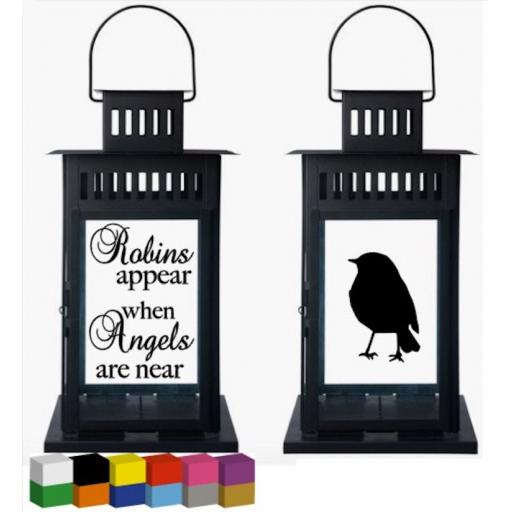 Robins Appear Lantern Decal / Sticker / Graphic