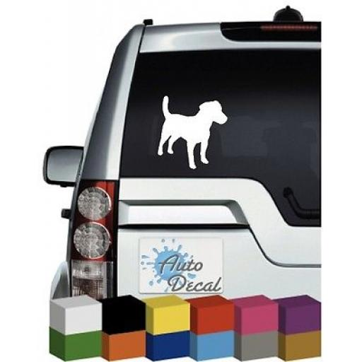 Jack Russell Dog Vinyl Car Animal Decal / Sticker / Graphic