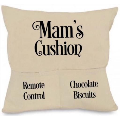 Cushion Cover with Pockets Personalised