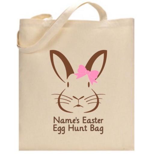 Easter Egg Hunt Bag V2 Personalised