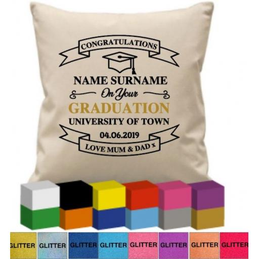 Cushion Cover with Graduation