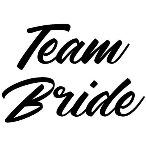 Team Bride Heat Transfer Vinyl