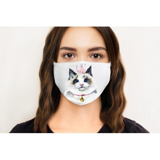 Cat 2 Face Mask