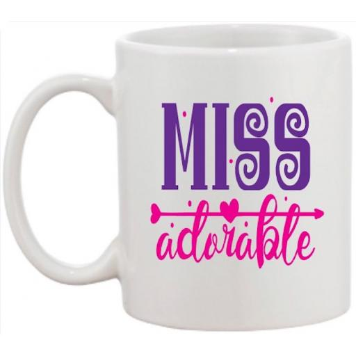 Miss Adorable Mug