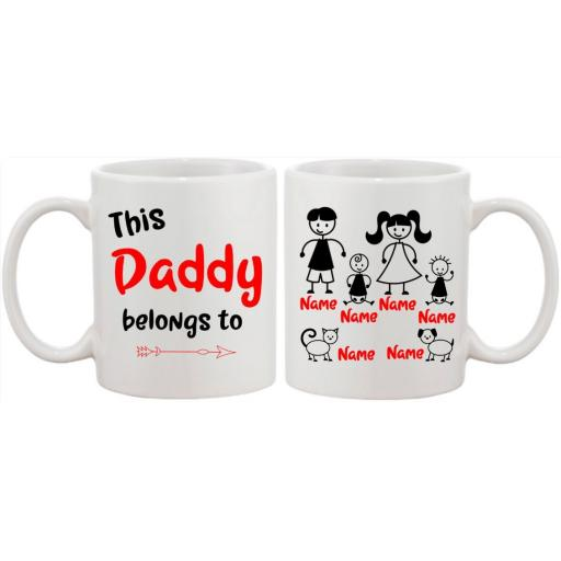 This Daddy belongs to Mug