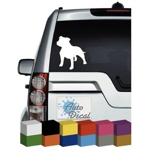 Staffy Car Decal / Sticker / Graphic