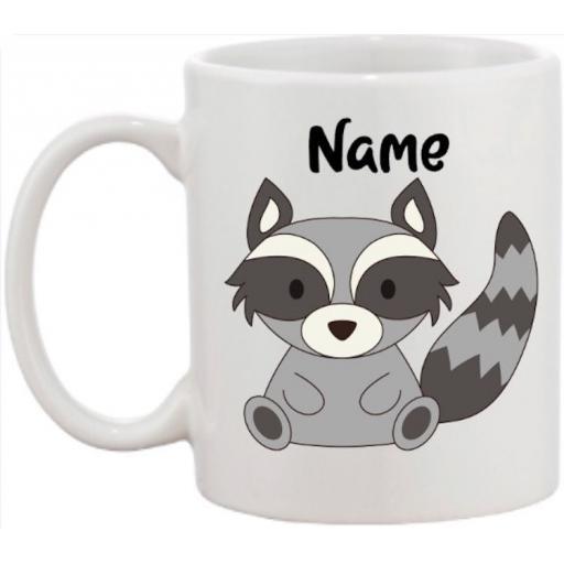 Racoon Personalised Mug