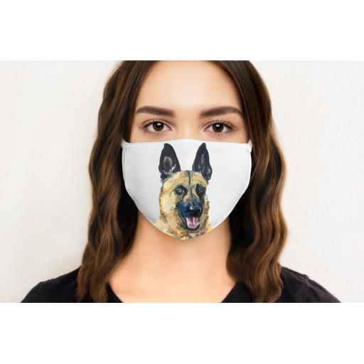 Malinois Dog Face Mask