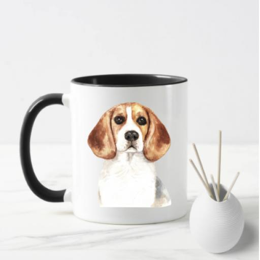 Beagle V2 Dog Mug