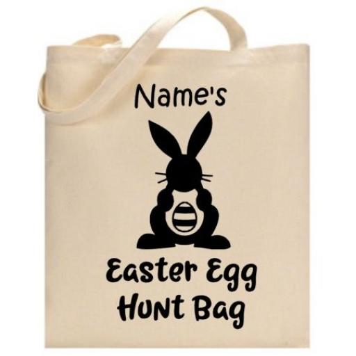 Easter Egg Hunt Bag Personalised