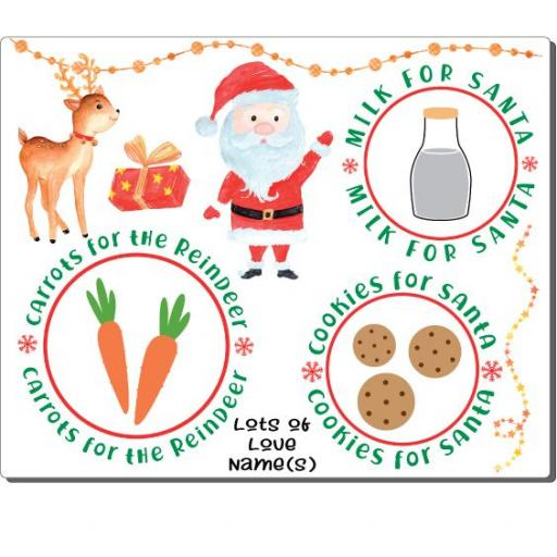 Cookies for Santa V1 Placemat