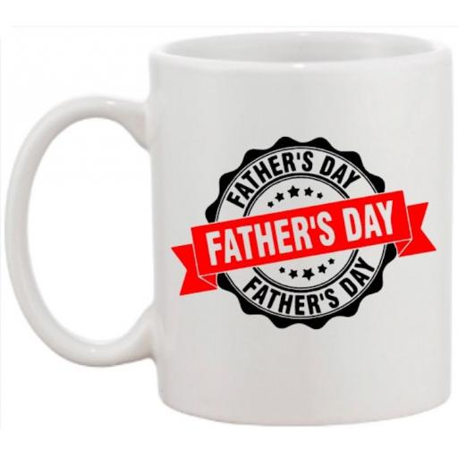 Father's Day Mug Personalised with Hobbies