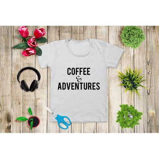 Coffee & Adventures Heat Transfer Vinyl
