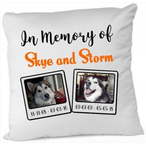 Memorial Cushion Cover