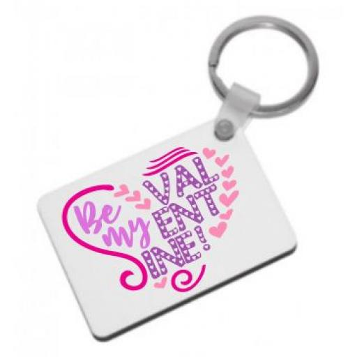 Be my Valentine Keyring
