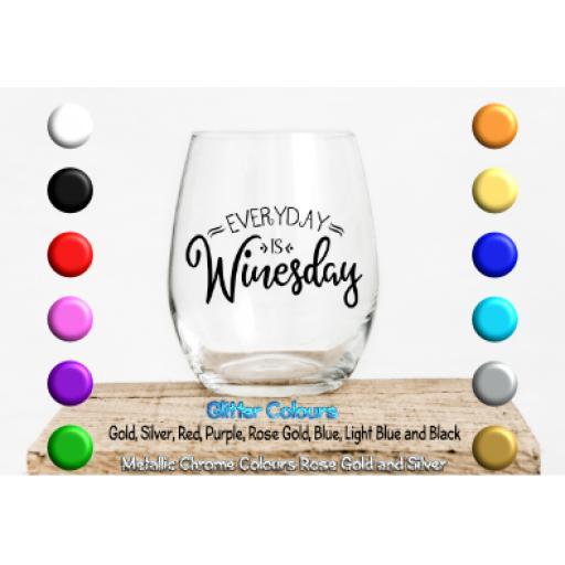 W.T.F wine tasting friends Glass / Mug Decal / Sticker / Graphic