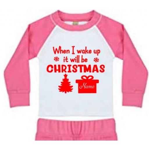 When I wake up it will be Christmas Heat Transfer Vinyl