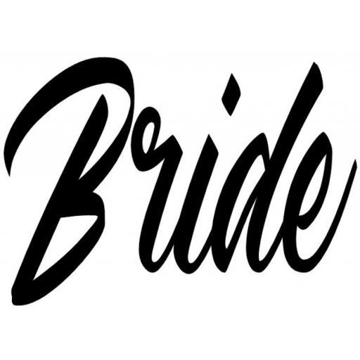 Bride Heat Transfer Vinyl
